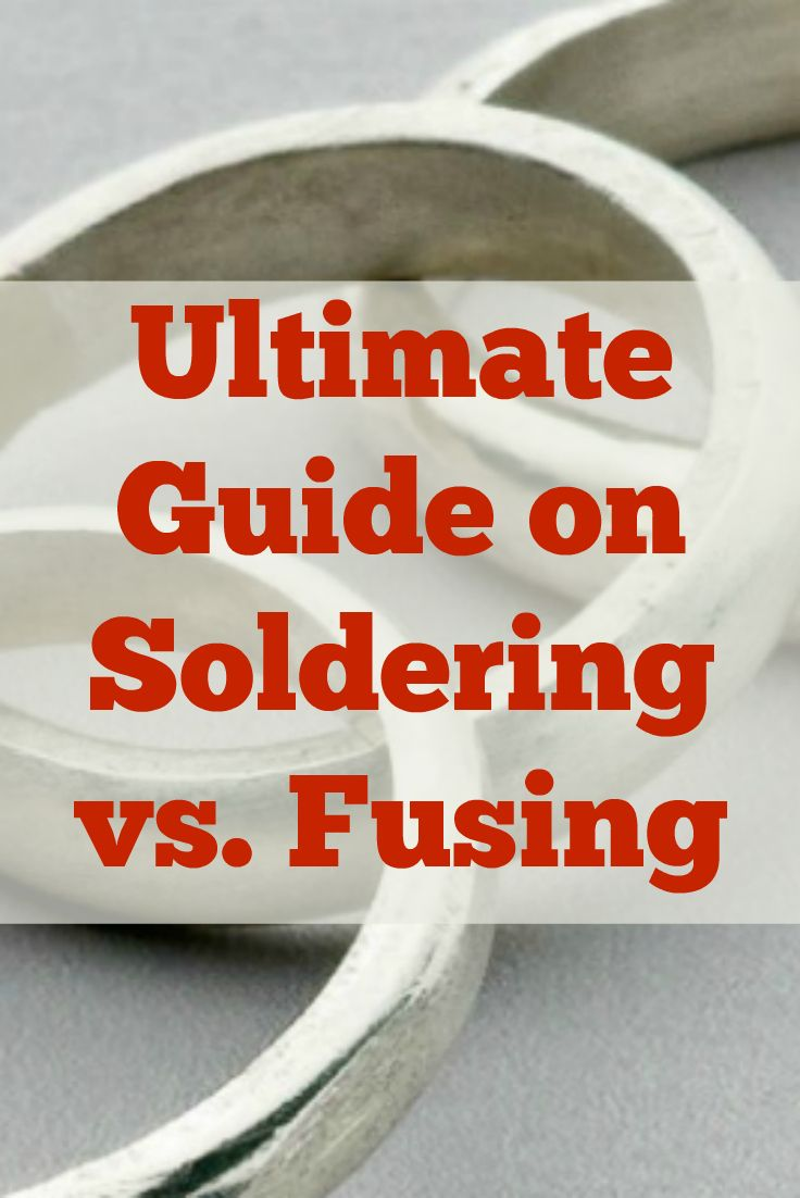 Learn everything you need to know about soldering and fusing as well as when to use which technique with Kate Richbourg! #soldering #fusing #jewelrymaking #diyjewelry