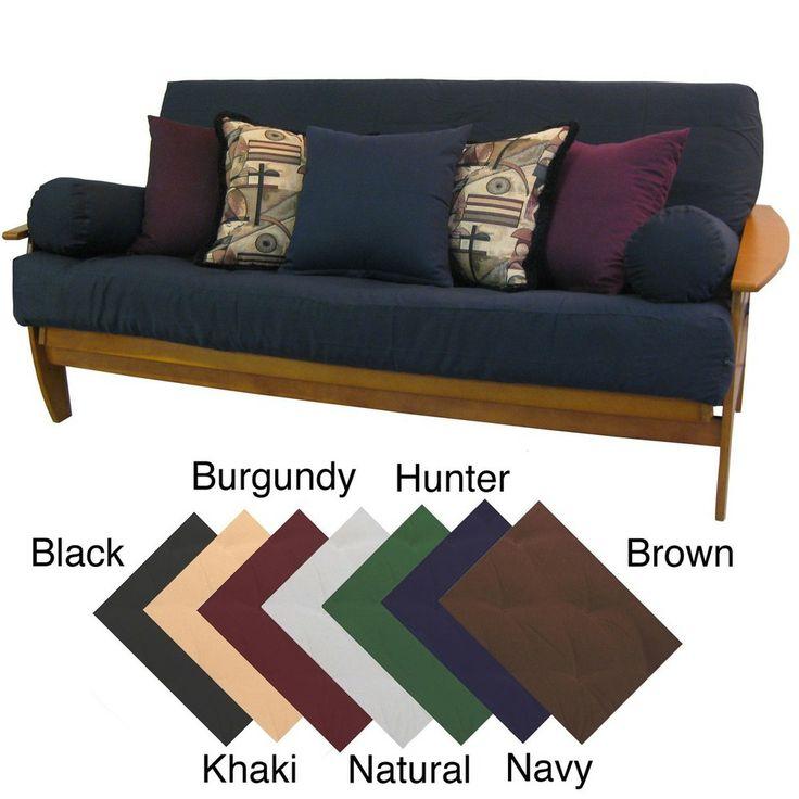 Premium Queen Size Upholstery Grade Twill Futon Cover Com