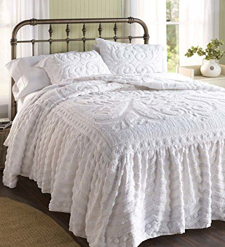 Chenille Skirted Sofa: 8 Best Bed Spreads Images On Pinterest