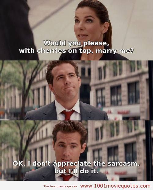 Most Quoted Movie Lines Ever: The Proposal (2009) - Movie Quote
