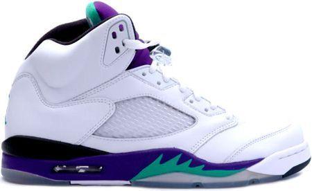 http://www.airjordan2u.com/air-jordan-5-retro-grapes-white-black-new-emerald-p-69.html AIR JORDAN 5 RETRO GRAPES WHITE BLACK NEW EMERALD Only $68.99 , Free Shipping!