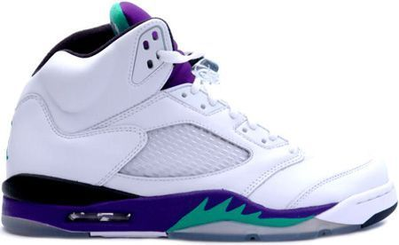 http://www.airjordan2u.com/air-jordan-5-retro-grapes-white-black-new-emerald-p-69.html AIR JORDAN 5 RETRO GRAPES WHITE BLACK NEW EMERALD Only $68.99 , Free Shipping!