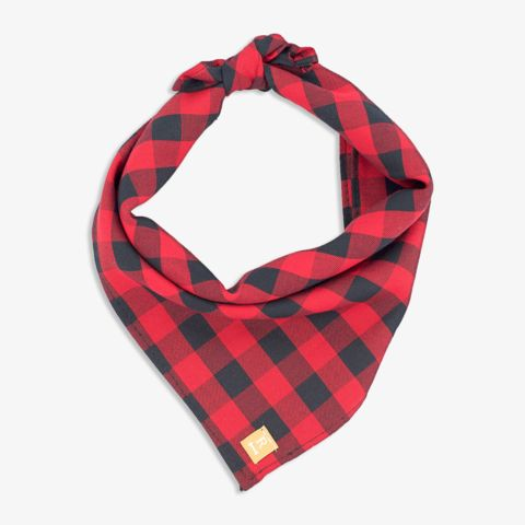 Red Plaid Dog Bandana                                                                                                                                                                                 More