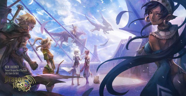 Tags: deviantART, Dragon Nest, Enferdehell, Warrior (Dragon Nest), Archer (Dragon Nest), Kali (Dragon Nest)