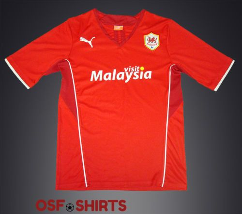 CARDIFF-CITY-HOME-2013-2014-S-FOOTBALL-SHIRT-Jersey-Maglia-Camiseta-Soccer