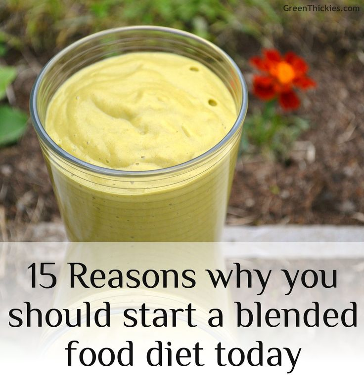 15 Reasons why you should start a blended food diet today: This post couldn't be more appropriate as I embark on my 'Green Thickie Challenge' this week.  I was asked why I bother blending my food rather than just enjoying eating it whole.  I had to think about it for a minute but when I thought about it, I was surprised at the number of very good reasons for blending your foods.  Take a look.