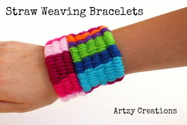 Straw Weaving Bracelets