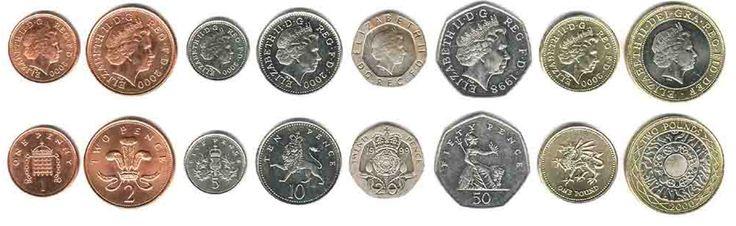 Birleşik Krallıklar Madeni paralar, Kuzey İrlanda, İskoçya, Galler
