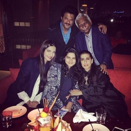 """family had a quite dinner and rang in the actor's birthday in a stylish way. Sonam took it to Twitter and posted the pictures of her family. happy birthday daddy! love you!! with my fav people.. """"said Sonam. The actor is vacationing with his family in the Emirate and will be spending Christmas there too. Jhakkas actor will be seen in Anees Bazmee'sWelcome Back, also featuringNaseeruddin Shah, Dimple Kapadia, John Abraham, Nana Patekar, Paresh Rawal, and Shruti Haasan in principal roles…"""