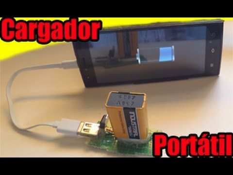 #CARGADOR DE MOVIL CASERO PORTATIL CELULAR  USB FACIL | HOW TO MAKE A CH...