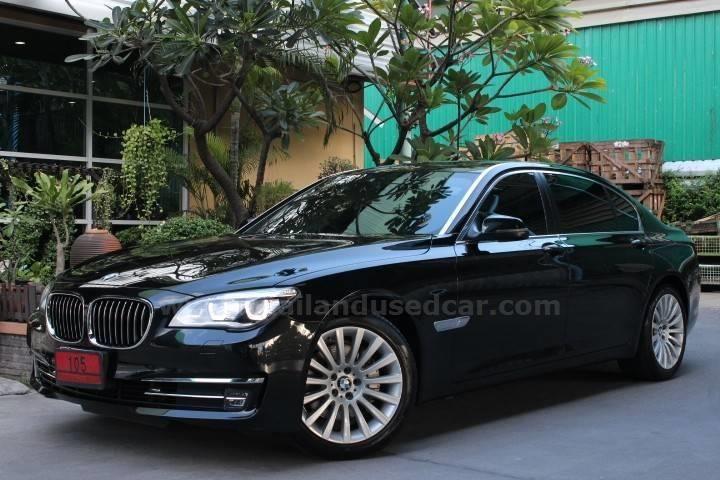 ขายรถเก๋ง BMW Series 7 บีเอ็มดับบลิว รถปี2015 สีดำ รหัสประกาศ 5840
