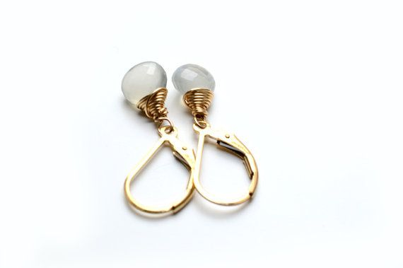 Moonstone Earrings, Junes Gemstone, Junes Birthstone, Moonstone Jewellery, June Birthday, Junes Gemstone Jewellery, 14K gold filled, gift.