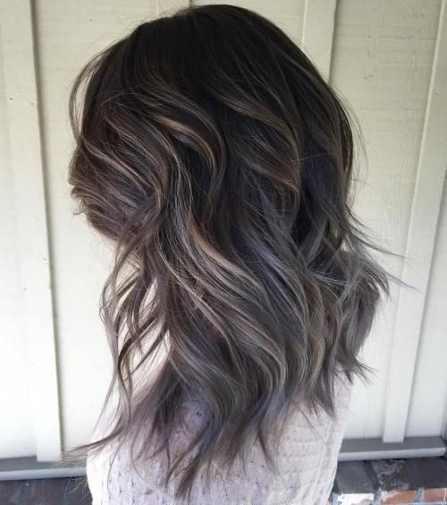 Best 25 silver highlights ideas on pinterest grey hair image result for silver highlights on dark brown hair pmusecretfo Images