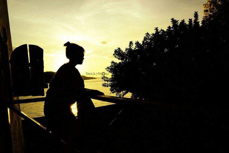 Sunset @benteng