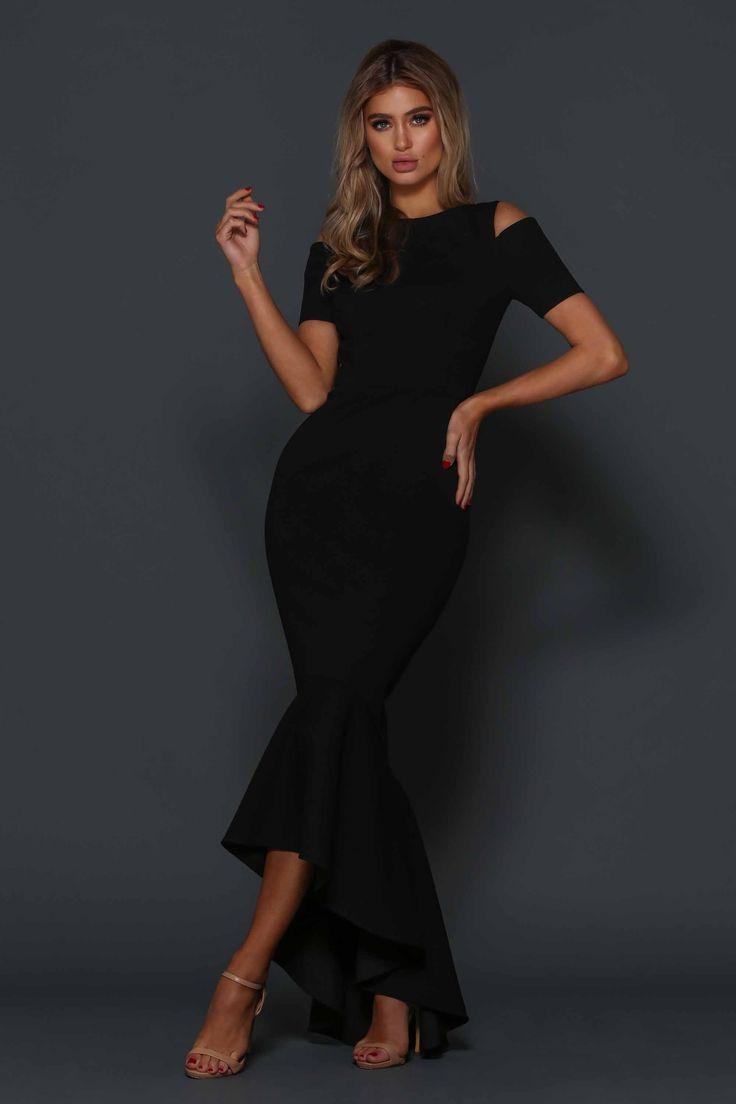 Elle Zeitoune  - Valentina Dress - Black