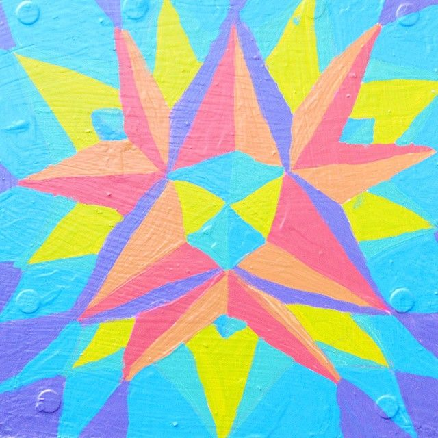 Early morning WIP. First day of May and Spring is all around. Enjoy the love, enjoy the sunshine! #Spring #Colors #Mission #Painting #artist #art #abstract #geometric #GeometricArt #MissionArts #SFarts #bright #light