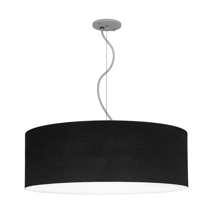 Brownlee Lighting High Performance LED Pendant. Model 2600 - Woven Black (NEW)