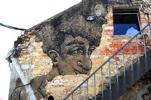 #streetart #portugal #lisbon #lxfactory #MarianaDiasCoutinho