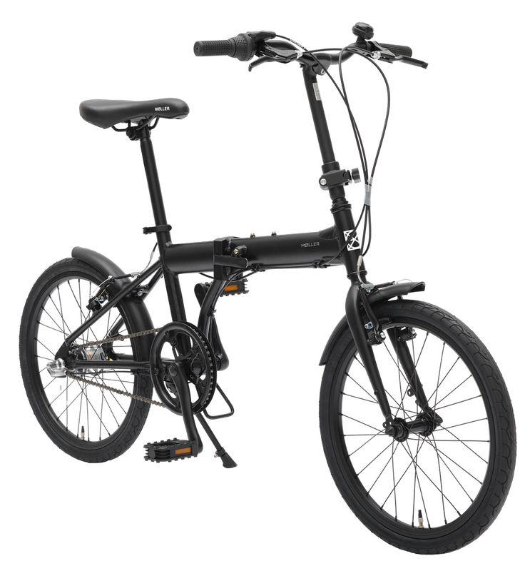 Image of MOLLER, Bicicleta plegable, negra