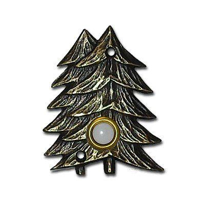 Buck Snort Lodge 920 Large Twin Pines Bell Doorbell Button
