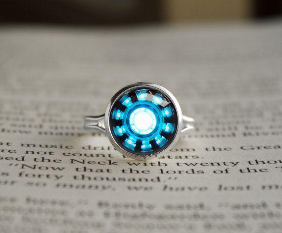 Handmade Iron Man Tony Stark Arc Reactor inspired by RingsCrafts, $14.70