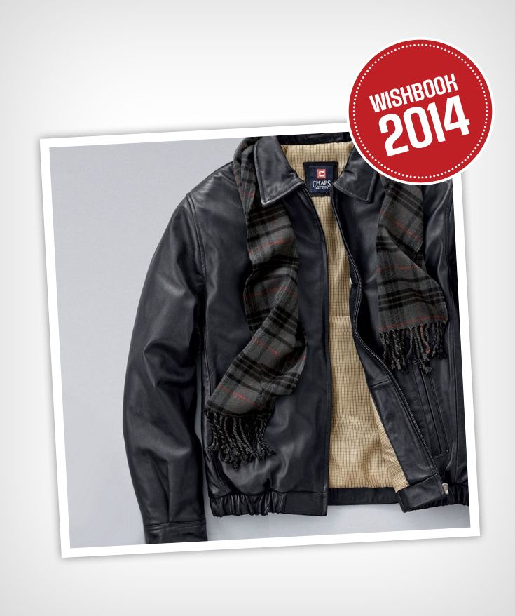 This luxurious, lambskin leather bomber jacket will keep you warm from fall through winter