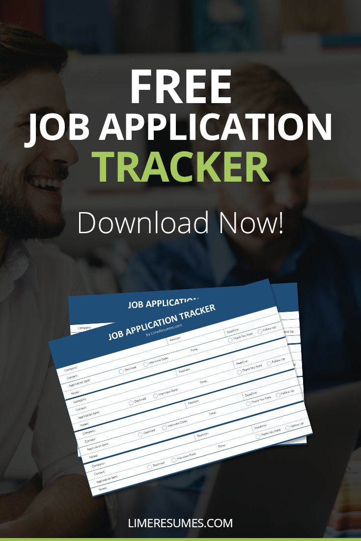 free job application tracker