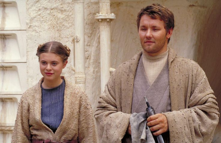 Pin Still Of Joel Edgerton And Bonnie Piesse In Star Wars: Episod ...