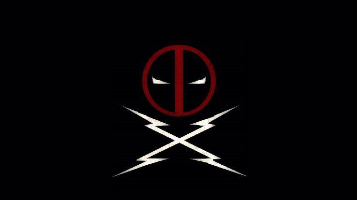 download deadpool logo wallpaper hd