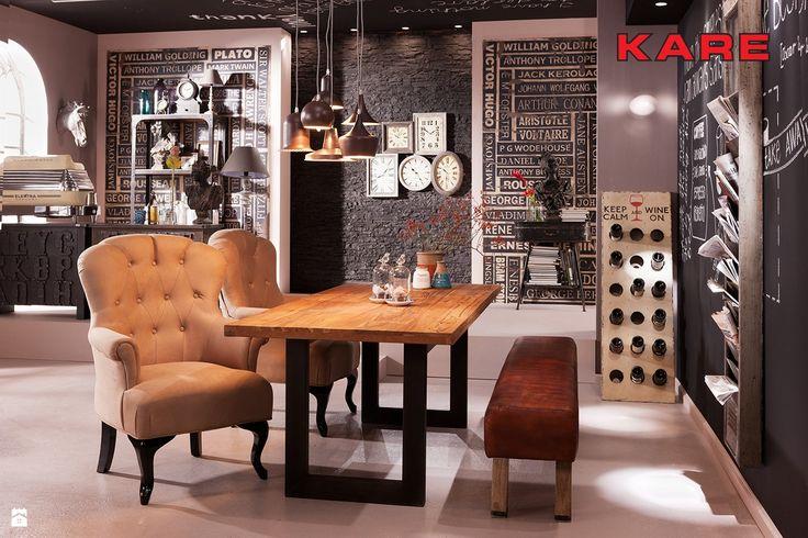 Jadalnia styl Industrialny - zdjęcie od kare24.pl - Jadalnia - Styl Industrialny - kare24.pl