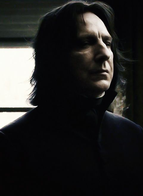 Severus Snape /Alan Rickman. . . They could not possibly have casted this part better.