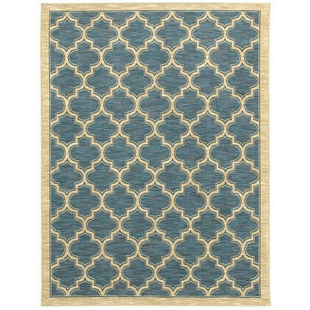 I pinned this Milazzo Rug in Blue from the Shaw Rugs event at Joss and Main!