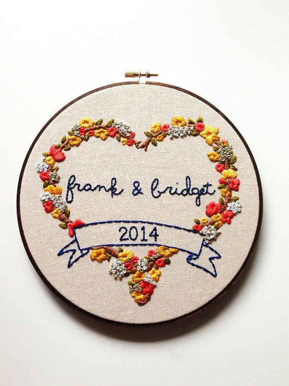 17 Best Ideas About Wedding Embroidery On Pinterest | Embroidery Hoop Art Embroidery And ...