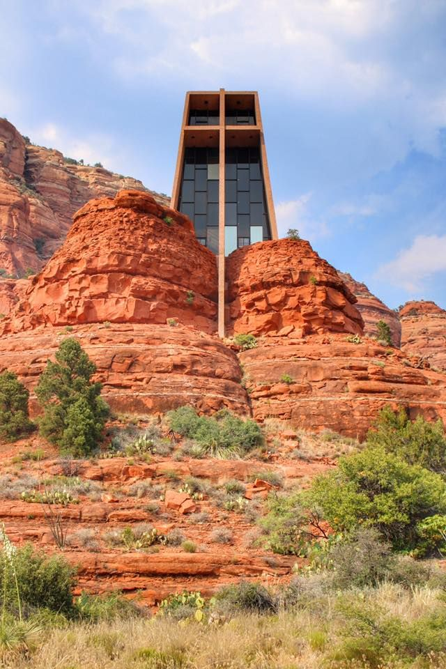 Chapel of the Cross in Sedona, Arizona and other Postcards from Scottsdale from a weekend road trip.