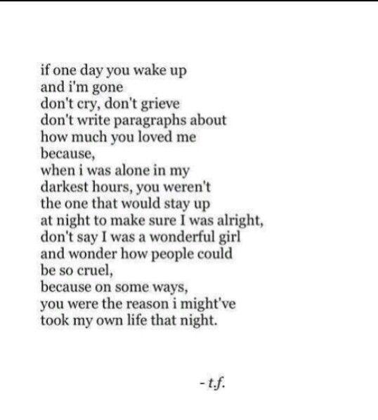 Poem Suicide