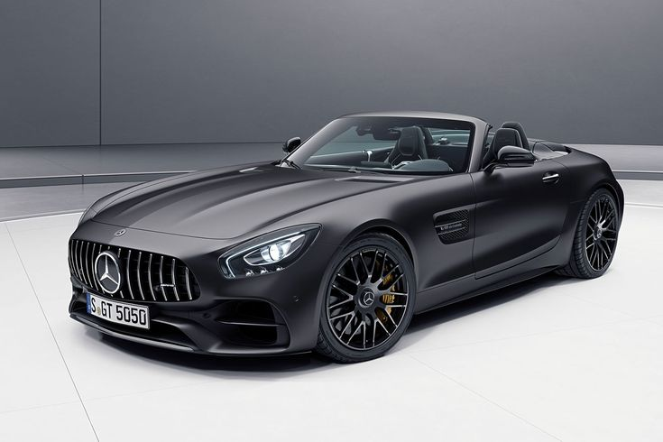Mercedes-AMG GT C Roadster Edition 50 heads trio of special models | Autocar