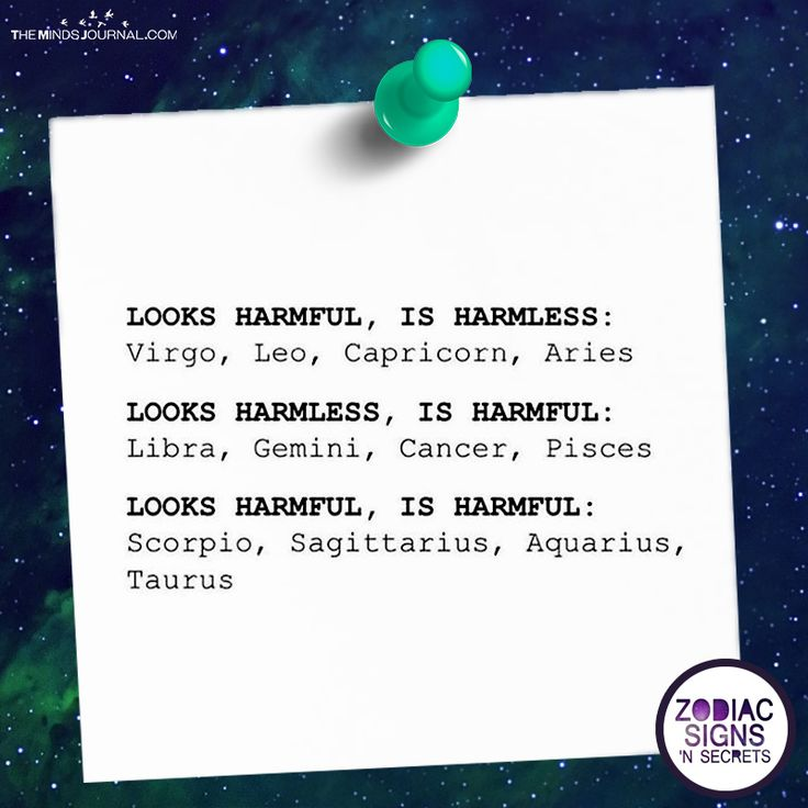 Zodiac Signs Those Are Actually Harmful - https://themindsjournal.com/zodiac-signs-actually-harmful/