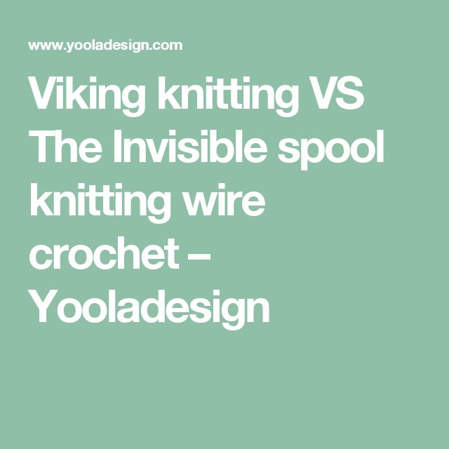 Knitting Vs Crocheting Which Is Easier : Best ideas about spool knitting on pinterest knots