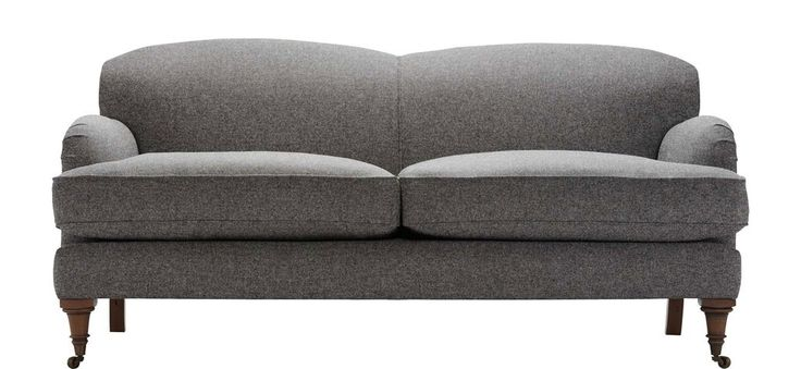 The Montrose 3 Seater Sofa by Sofasofa in Slate colour. The amalgamation of contemporary curves and far-back armrests with the traditional-style feet makes this ideal for anyone. It looks good and it's also upholstered in 100% Lancashire wool and cushions wrapped in a duck feather casing. Designed for comfort and style. http://www.sofasofa.co.uk/montrose-3-seater-sofa.html