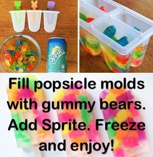Ice pops for kids!