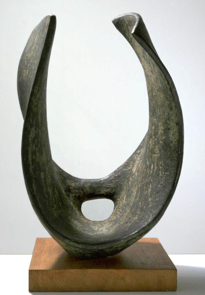 Dame Barbara Hepworth - 'Curved Form (Trevalgan)' 1956