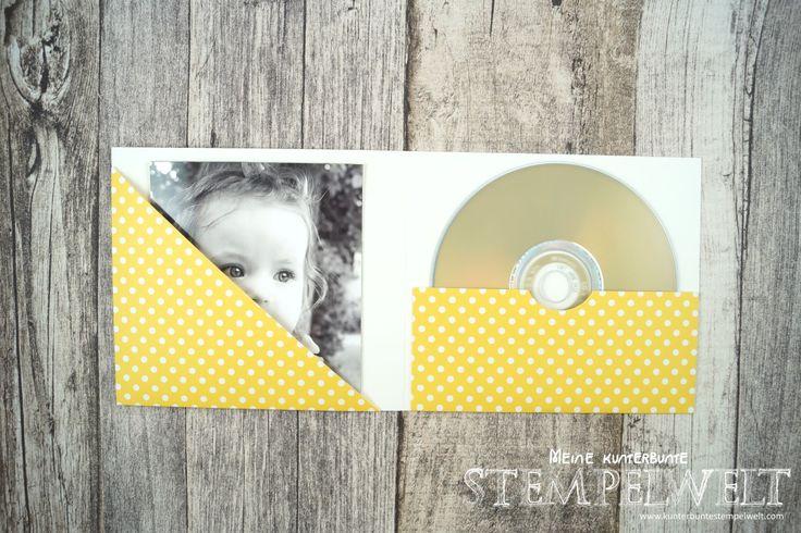 Stampin Up_CD-Hülle_Anleitung_Scrapbooking_Designerpapier in block Signalfarben_Wellpappe_Miniklammern_Project Life Paper Clips_7