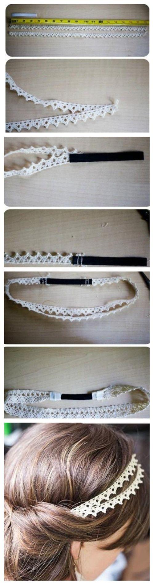 DIY hairpin -                                                                                                                                                     More