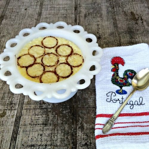 """Portuguese Rice Pudding 