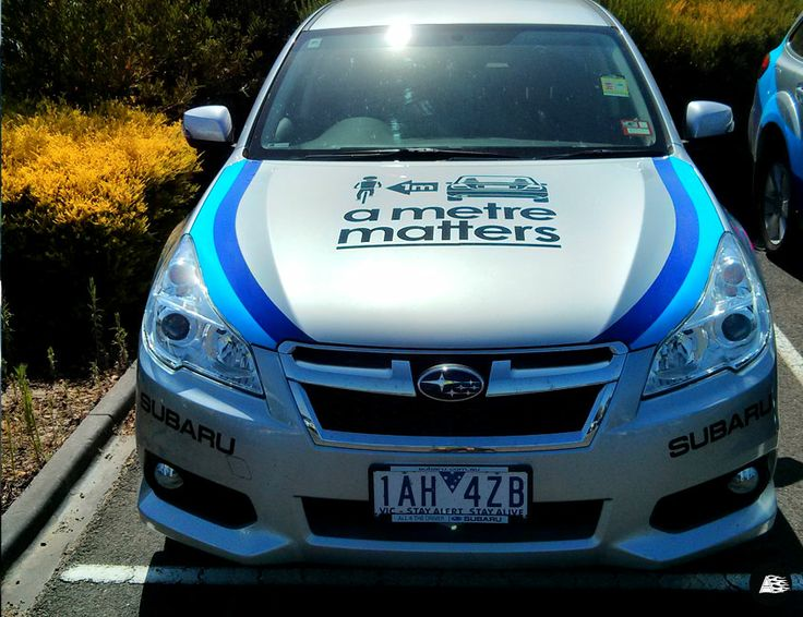 Sponsor Decals, Subaru, Amy Gillett, Herald Sun Tour, Vehicle Decals