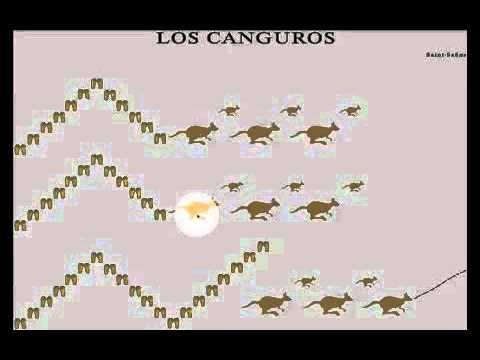 Musicograma interactivo Los Canguros - El Carnaval de los Animales