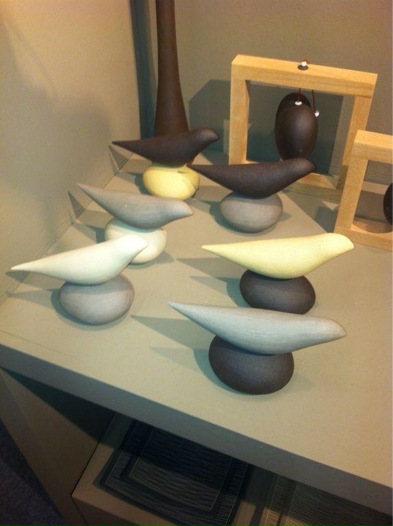 Ceramic pigeons!!