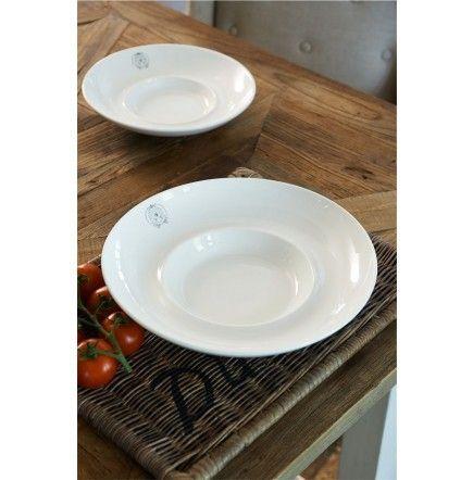 Classic Italian Pasta Plate XL