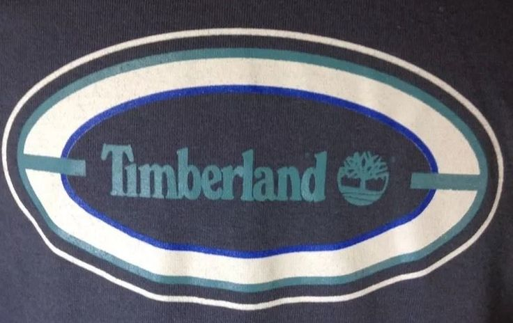 Timberland T-Shirt Large Mens Timberland Logo Graphic Charcoal Gray #Timberland #GraphicTee
