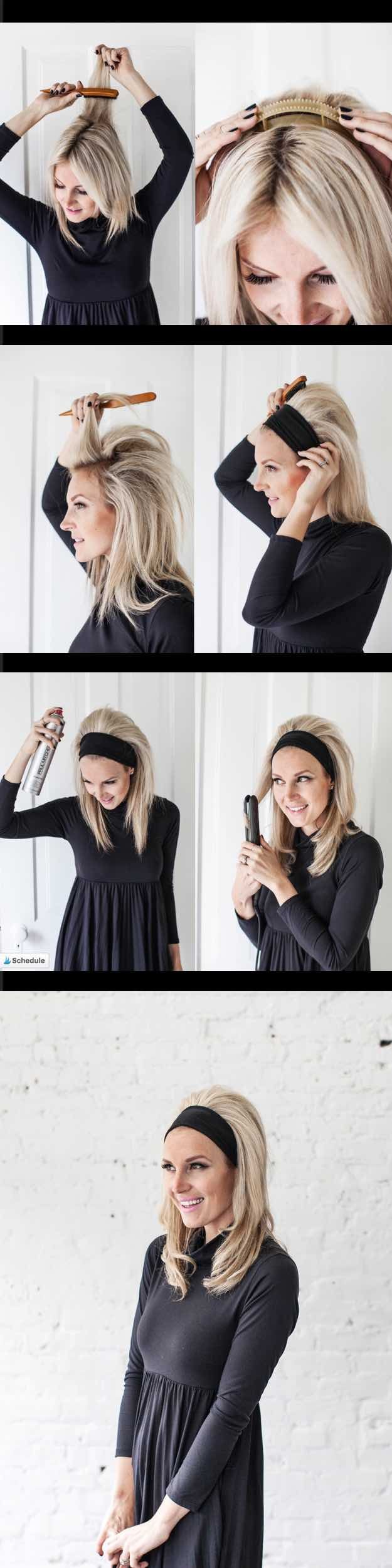 33 Fast and Simple Hairstyles for Straight Hair